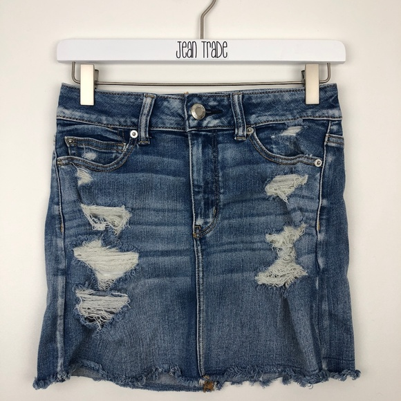 American Eagle Outfitters Dresses & Skirts - American Eagle Festival Denim Skirt